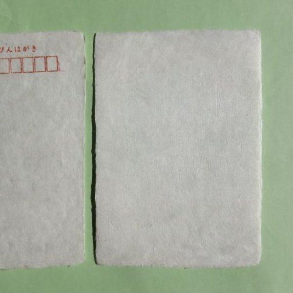 画像1: 土佐和紙 純楮はがき(晒)10枚 (1)