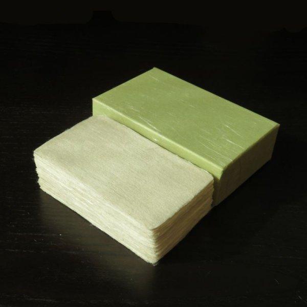 画像1: 103:杉原紙 耳付名刺 (50枚) (1)