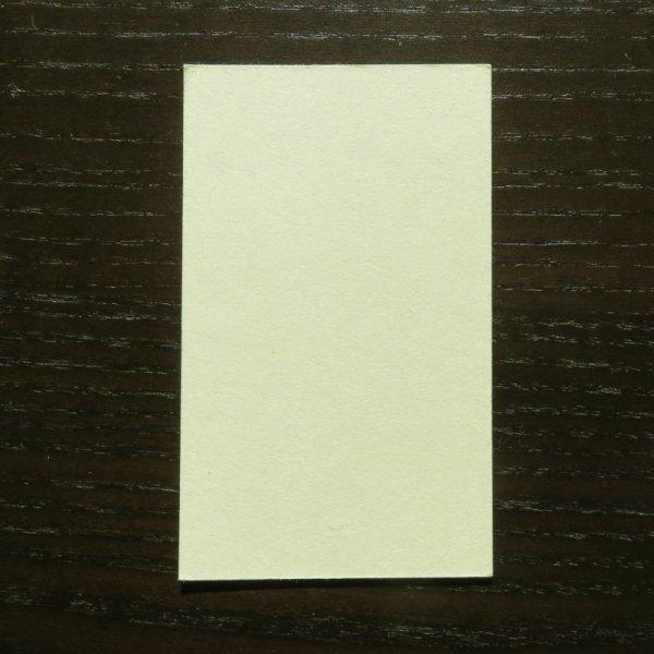 画像1: 210:鳥の子名刺(特価品)サンプル(1枚) (1)