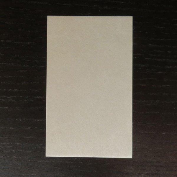 画像1: 204:黒谷和紙 切名刺 サンプル(1枚) (1)