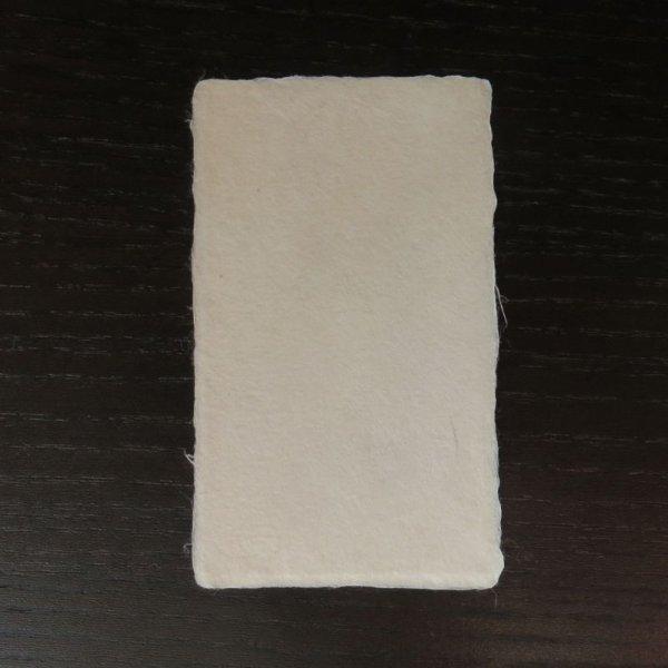 画像1: 115:黒谷和紙 耳付名刺 サンプル(1枚) (1)