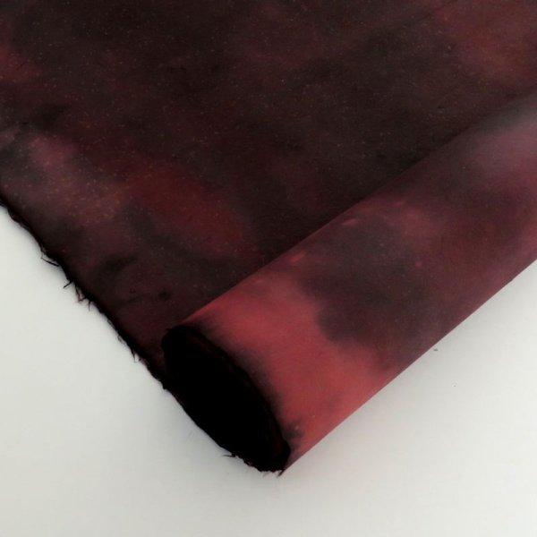 画像1: むら染 黒と濃いピンク (1)