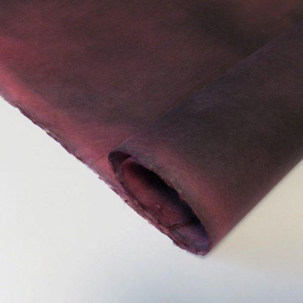 画像1: むら染め 紫+黒 (1)